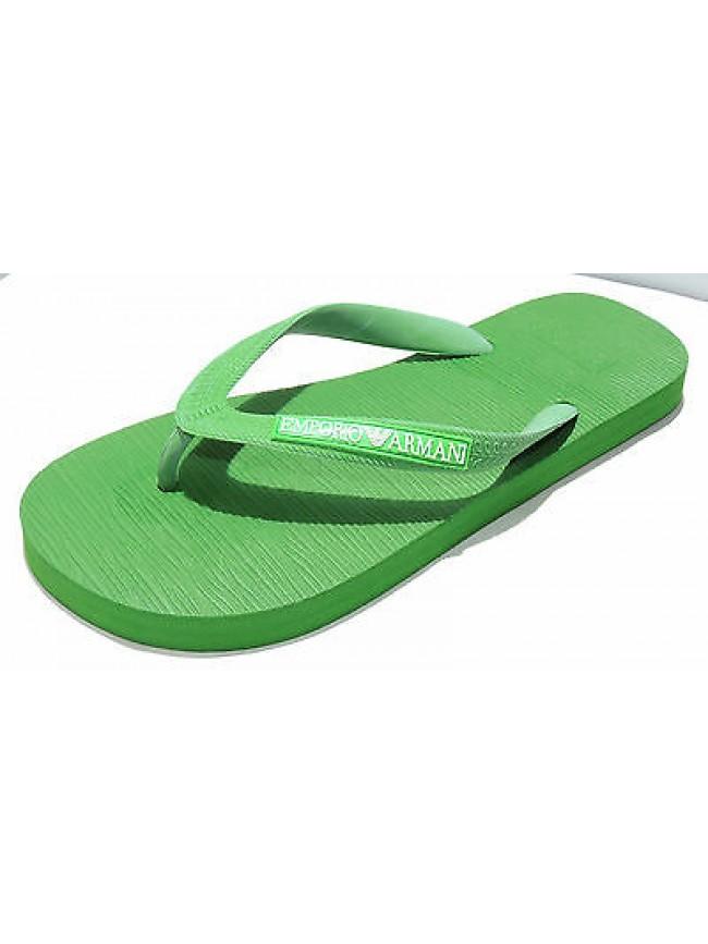 Infradito ciabatta uomo slippers EMPORIO ARMANI 211301 3P484 T.39 c.01882 verde