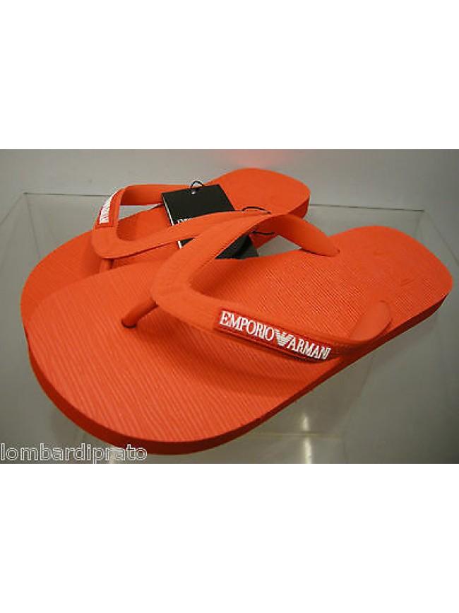 Infradito uomo slippers EMPORIO ARMANI 211301 3P484 T.39 c.00074 rosso red