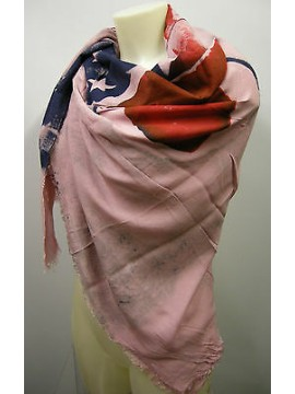Kefia foulard sciarpa scarf SWEET YEARS art.LF28 colore 3 rosa pink Italy