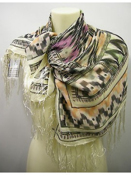 Kefia sciarpa scarf SWEET YEARS art.FT3 colore 1 beige