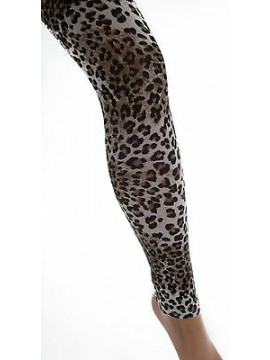 Leggings calzamaglia pantacollant LEVANTE art.F017 T.L/XL col.animalier