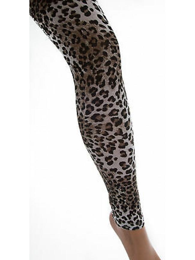 Leggings calzamaglia pantacollant LEVANTE art.F017 T.L/XL col.animalier