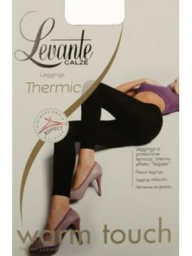 Leggings collant donna senza piede coprente felpato comfort LEVANTE articolo THE