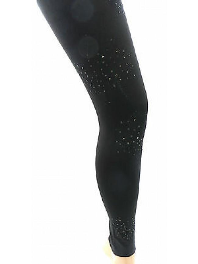 Leggings pantacollant GUESS art.UF8D6L JER95 t.S/M col.996 nero black strass