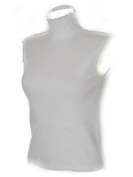 Lupetto smanicato maglia donna RAGNO art. 074523 taglia 2/XS colore 010 BIANCO