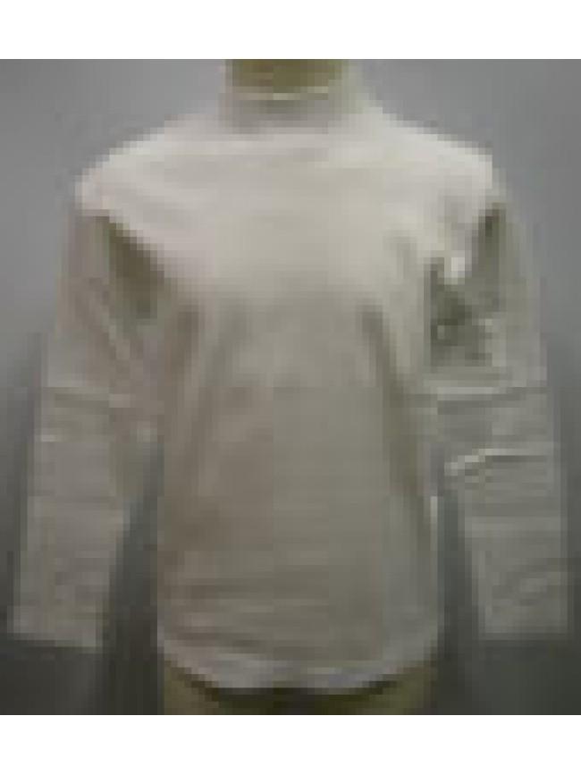 MAGLIA LUPETTO T-SHIRT BIMBO BIMBA RAGNO ART.08000K T.3 4-5 ANNI COL.010 BIANCO