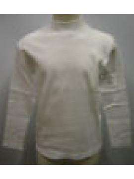 MAGLIA LUPETTO T-SHIRT BIMBO BIMBA RAGNO ART.08000K T.5 7-8 ANNI COL.010 BIANCO