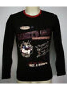 MAGLIA T-SHIRT UOMO MAN JUST CAVALLI ART.B682 T60 T.XS COL.2000 NERO BLACK