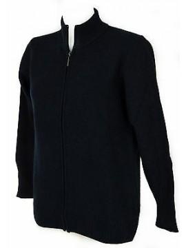 Maglia cardigan zip lana donna RAGNO a. A1100W taglia 52/XL col. 113M DENIM