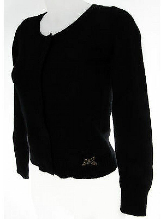 Maglia giacca cardigan donna GUESS a.UC0D31 KNT01 T.S c.996 nero black