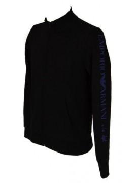 Maglia giacca con zip uomo manica lunga EMPORIO ARMANI articolo 111570 6A571 swe