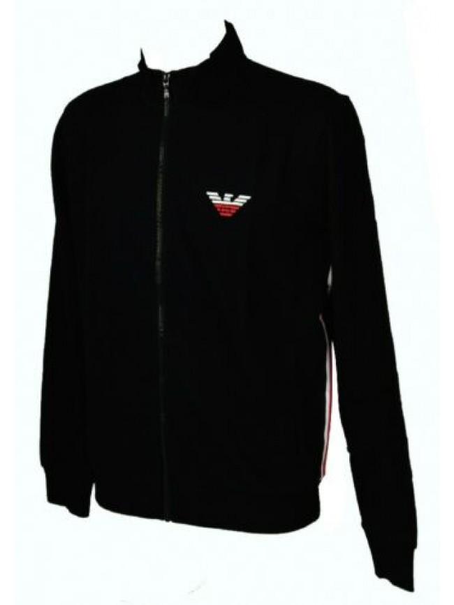 Maglia giacca uomo felpa aperta con zip manica lunga EMPORIO ARMANI articolo 111