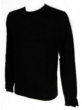Maglia girocollo uomo sweater GUESS a. M54R01 taglia XS col. 996 NERO JET BLACK