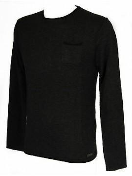 Maglia girocollo uomo sweater GUESS a. M54R04 taglia XL c. M96 GRIGIO DARK GREY