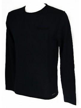 Maglia girocollo uomo sweater GUESS a. M54R04 taglia XXL col. G720 BLUE NAVY