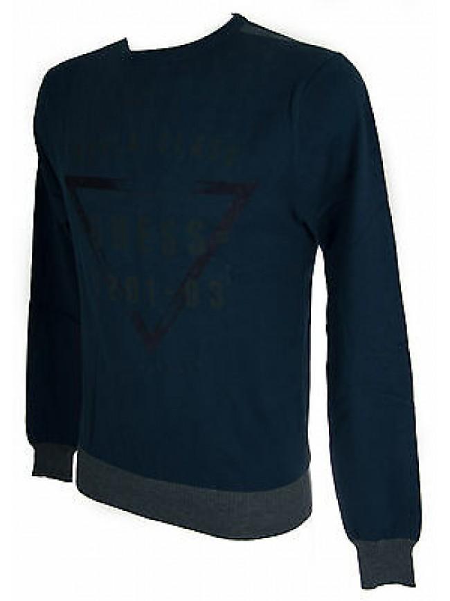Maglia girocollo uomo sweater GUESS a.M52R00 taglia XXL colore C705 BLUE