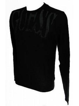 Maglia girocollo uomo sweater GUESS art.M53R42 taglia XL colore 996 NERO BLACK