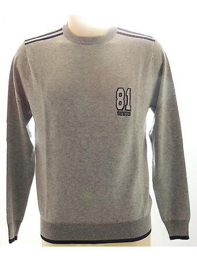 Maglia girocollo uomo viscosa sweater man GUESS a.UA8I2G 0PA0 T.XL c.M90 grigio