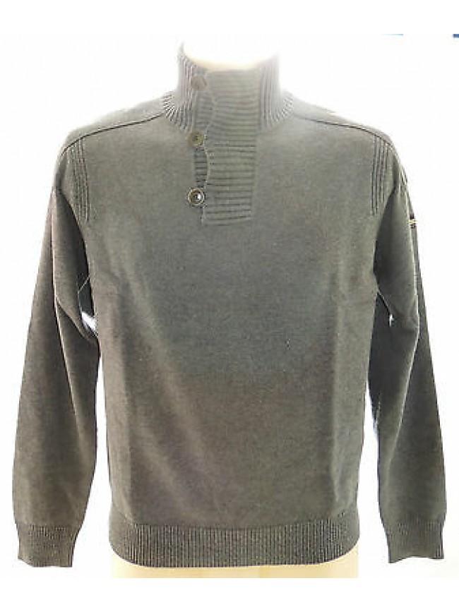 Maglia maglione collo bottoni uomo sweater GUESS a.UA8I2M T.S c.M19 grigio grey