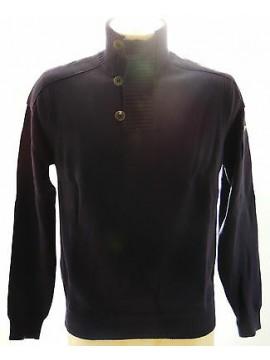 Maglia maglione collo bottoni uomo sweater GUESS a.UA8I2M T.S col.D790 bluette