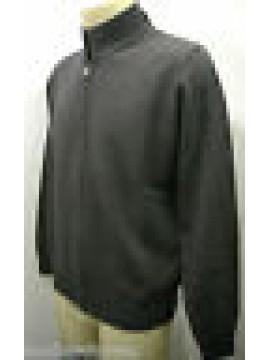 Maglia maglione giubbotto giacca uomo zip sweater FERRANTE G30002 T.52 035 grigi