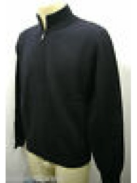 Maglia maglione giubbotto giacca uomo zip sweater FERRANTE G30002 T.52 c.008 blu