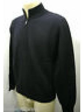 Maglia maglione giubbotto giacca uomo zip sweater FERRANTE G30002 T.54 c.008 blu