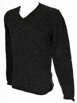 Maglia maglione scollo V uomo GUESS art.M53R29 taglia XS colore M92 CHARCOAL