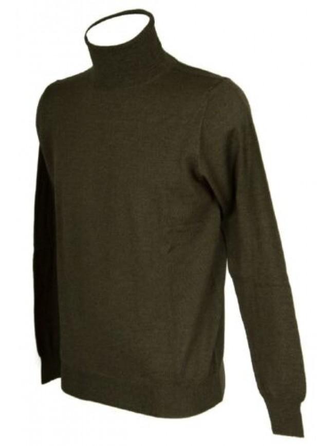 Maglia pullover uomo lana manica lunga collo alto dolcevita RAGNO articolo A2351