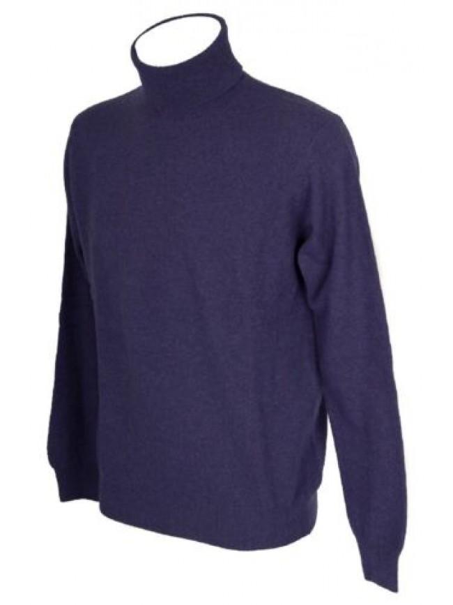 Maglia pullover uomo lana manica lunga collo alto dolcevita RAGNO articolo A2396