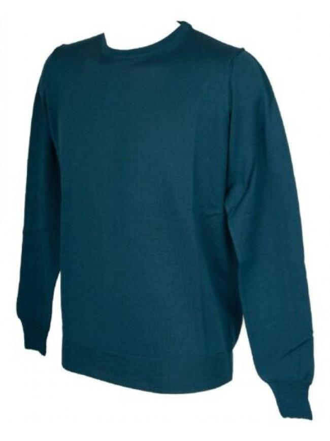 Maglia pullover uomo lana merino extrafine manica lunga girocollo RAGNO articolo