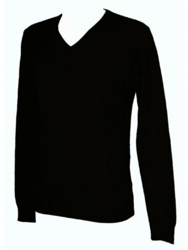 Maglia pullover uomo scollo V manica lunga GF FERRE' articolo 5F2850 81508 MADE