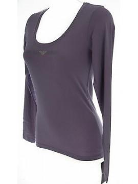 Maglia t-shirt donna EMPORIO ARMANI a.163378 4A263 T.S c.03893 amethyst