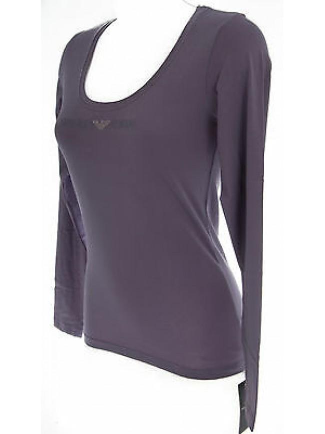 Maglia t-shirt donna EMPORIO ARMANI a.163378 4A263 T.XS c.03893 amethyst