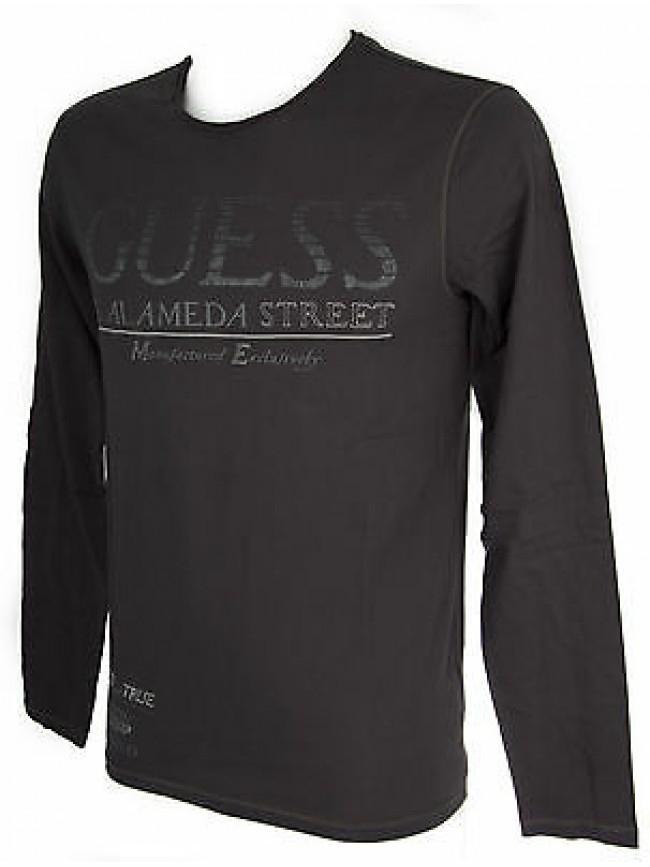 Maglia t-shirt girocollo uomo GUESS a.M53I36 taglia XS col.B953 DEEP SLATE
