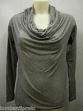 Maglia t-shirt sweater donna Max Mara art.Rina T.M col.059 grigio mel grey Italy