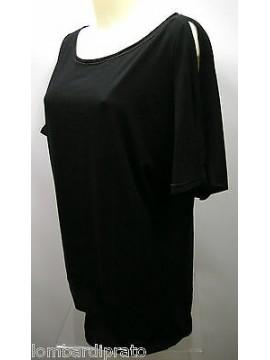 Maglietta maxi t-shirt beach donna woman GUESS a.FN7D2D T.L/46 col.U999 nero