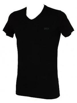 Maglietta t-shirt V uomo DATCH a. IU0003 taglia S / 46 col. D101 NERO BLACK