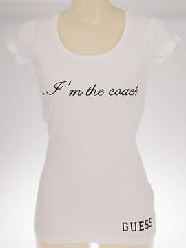 Maglietta t-shirt cotone donna woman GUESS art.UB9O29 JES20 T.L col.009 BIANCO