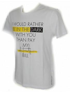 Maglietta t-shirt girocollo uomo GUESS a. M61I53 taglia L col. P351 IN THE DARK
