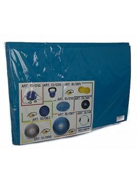 Materassino tappetino palestra unisex GIMER articolo 10/046 colore 08 OLIMPICO