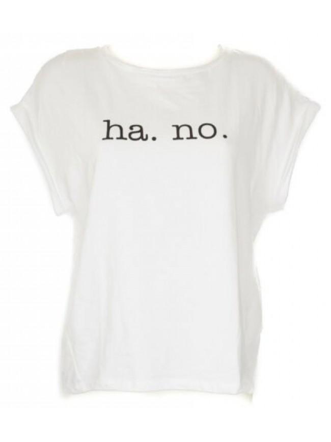 Maxi t-shirt donna manica corta girocollo HAPPY PEOPLE articolo 3645