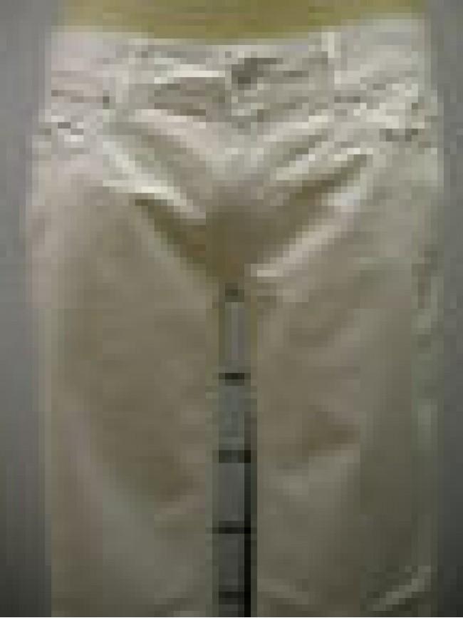 PANTALONE UOMO PANTS MAN GF FERRE ART.4F7070 73101 T.34 COL.001 BIANCO WHITE