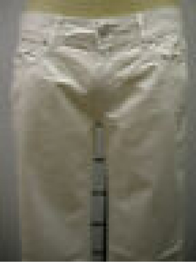 PANTALONE UOMO PANTS MAN GF FERRE ART.4F7070 73101 T.36 COL.001 BIANCO WHITE