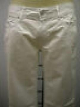 PANTALONE UOMO PANTS MAN GF FERRE ART.4F7070 73101 T.40 COL.001 BIANCO WHITE