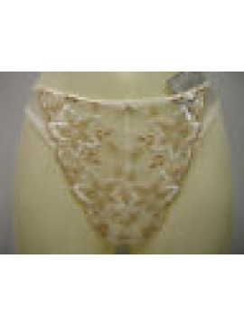 PERIZOMA DONNA SLIP THONG WOMAN CHANTELLE ART.2179 T.S SMALL COL.AVORIO IVORY