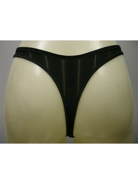 PERIZOMA DONNA SLIP THONG WOMAN CHANTELLE ART.2189 T.M MEDIUM COL.NERO BLACK