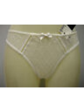 PERIZOMA DONNA SLIP THONG WOMAN CHANTELLE ART.2599 T.L LARGE COL.BIANCO WHITE