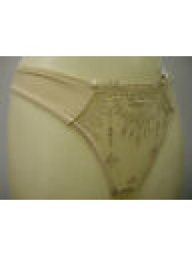 PERIZOMA DONNA SLIP THONG WOMAN CHANTELLE ART.2699 T.S SMALL COL.SABBIA SAND