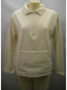 PIGIAMA DONNA PAJAMAS WOMAN SOFTNESS RAGNO ART.N7686W T.48 COL.689 YOGURT